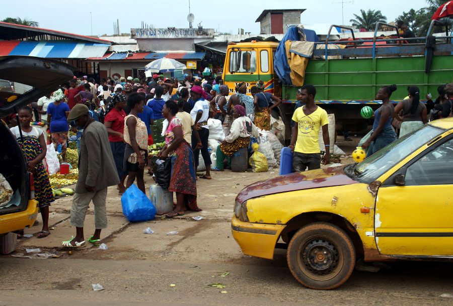 Study Finds Poverty Spread Ebola
