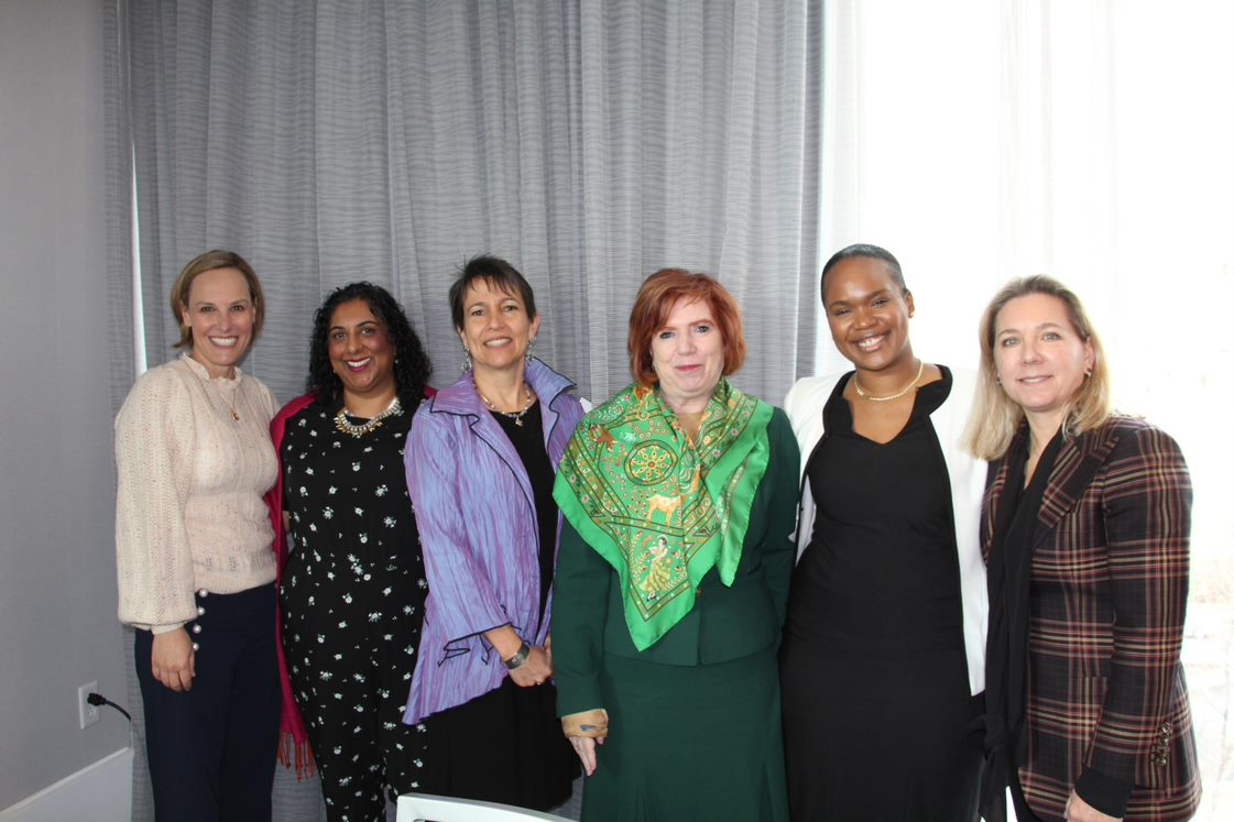 Attendees at the Women's Philanthropy for Women's Health event
