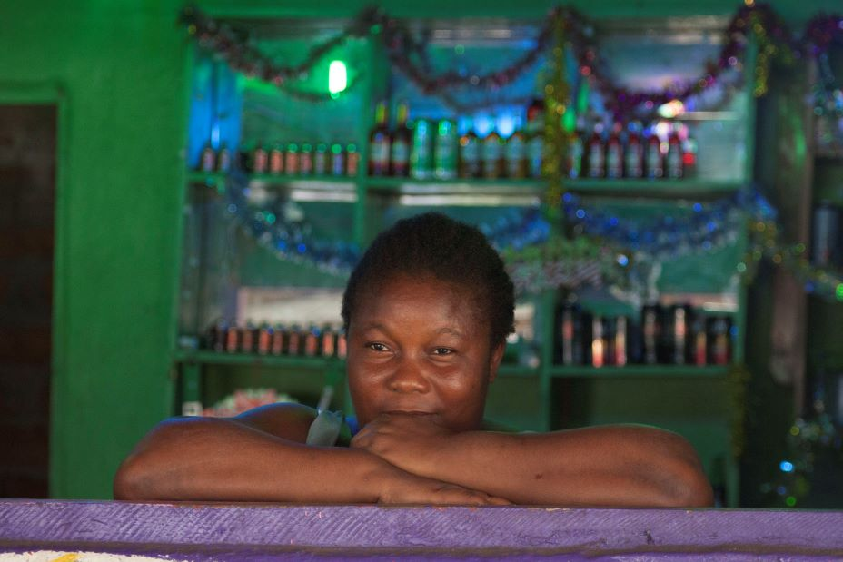 Sophie Prowd was the first patient in PIH Liberia's mental health program.