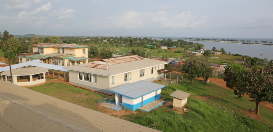 J.J. Dossen Hospital campus in Harper, Liberia