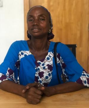 PIH Liberia psychosocial community worker Helena Wesley
