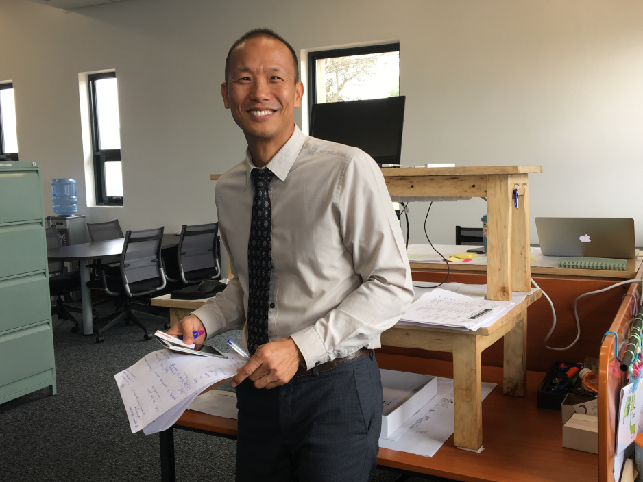Dr. Rex Wong leads the master's program at UGHE