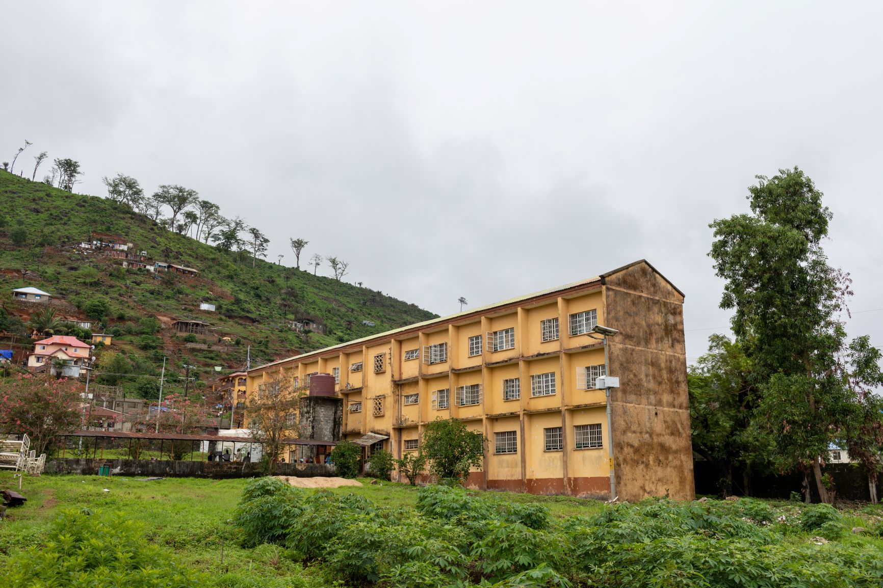 Lakka Hospital in Freetown, Sierra Leone