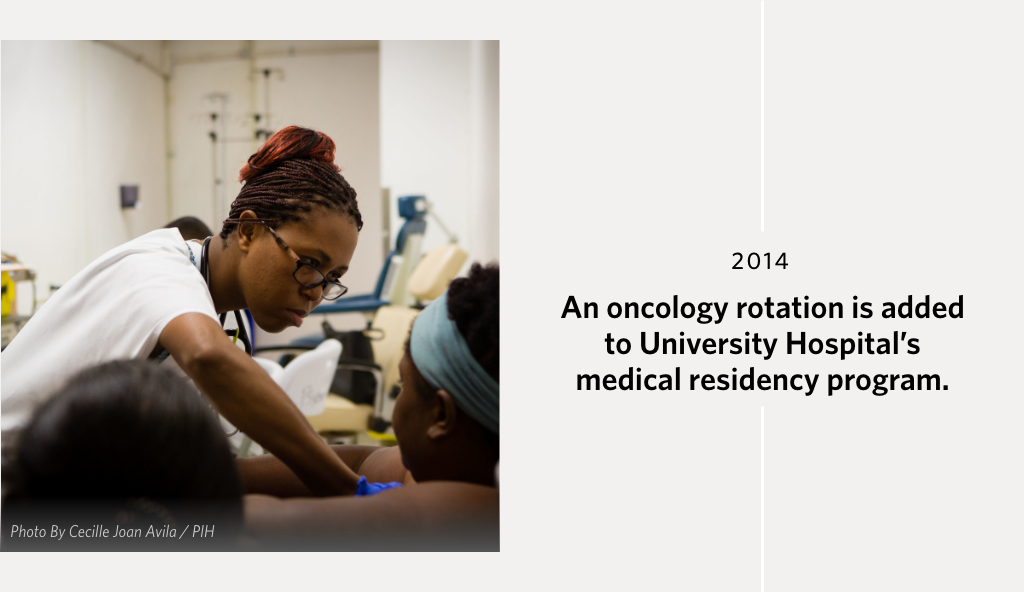 An oncology rotation is added to University Hospital's medical residency program.""