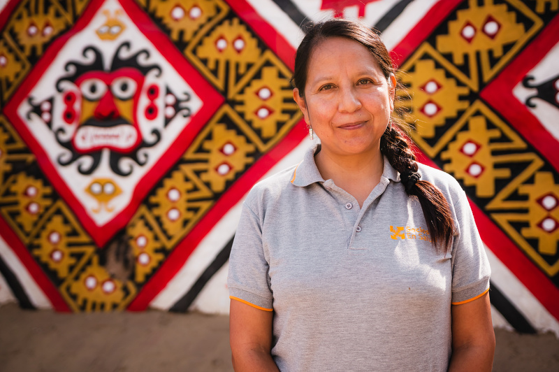 Carmen Contreras is director of mental health in Peru.