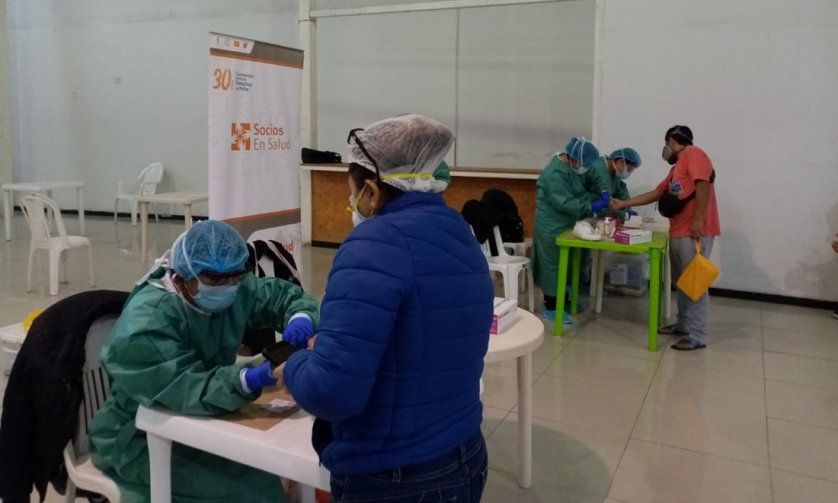 From mobile clinics to chatbots, Partners In Health is bringing technologies old and new to the fight against COVID-19 in Peru.