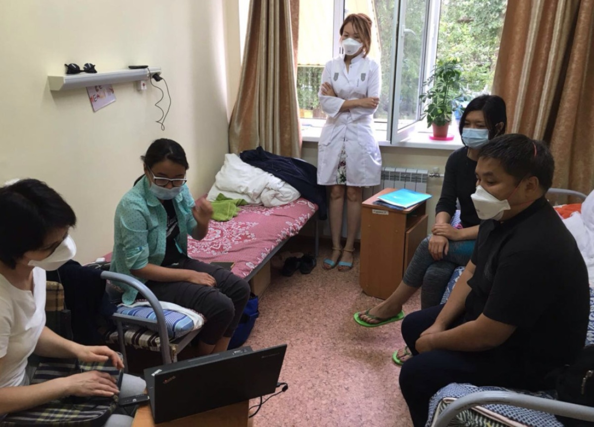 PIH doctors in Kazakhstan have faced challenges with COVID-19 while continuing care for TB patients