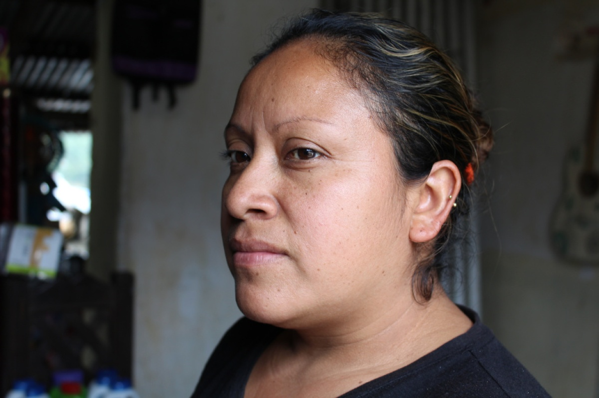 Vilga Vázquez is a community health worker for PIH in Chiapas, Mexico, who focuses on maternal health.