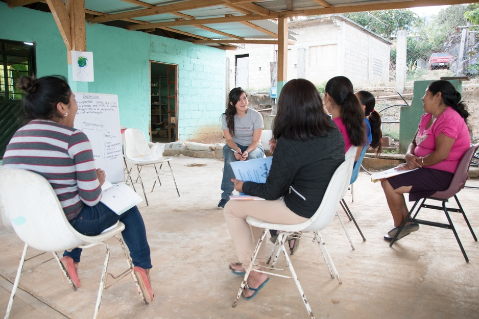 mental health training on depression in rural Mexico